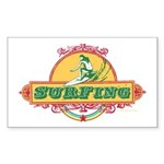 Surfing - Rectangle Sticker 50 pk)