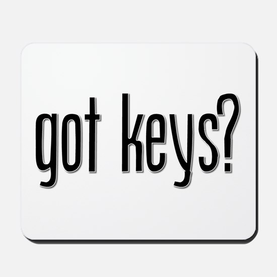 Got Keys? Mousepad