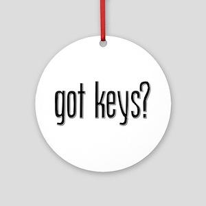 Got Keys? Keepsake (Round)
