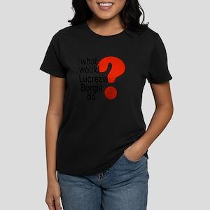 Lucrezia Borgia Women's Dark T-Shirt