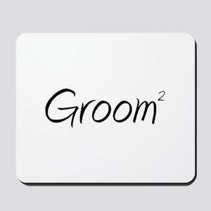 Groom (Squared) Mousepad