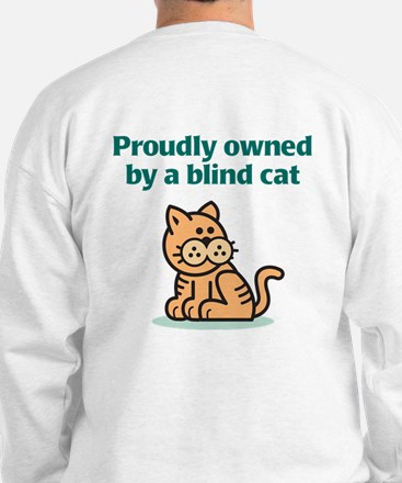 Proudly Owned (Cat) Sweatshirt