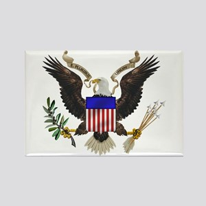 Great Seal Eagle Rectangle Magnet