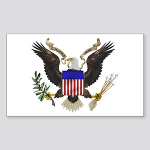 Great Seal Eagle Rectangle Sticker