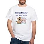 New Baby White T-Shirt