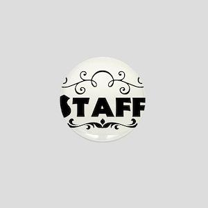 Staff Mini Button