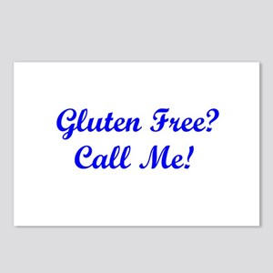 Gluten Free? Call Me! Postcards (Package of 8)