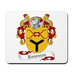 Bowman Family Crest Mousepad