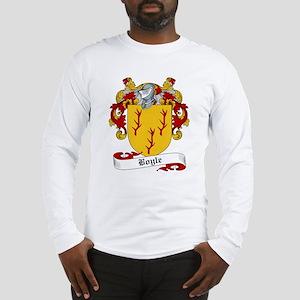 Boyle Family Crest Long Sleeve T-Shirt