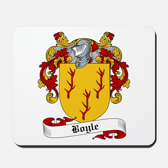 Boyle Family Crest Mousepad