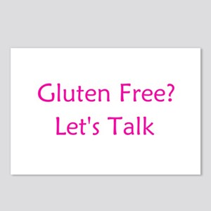 Gluten Free? Let's Talk Postcards (Package of 8)