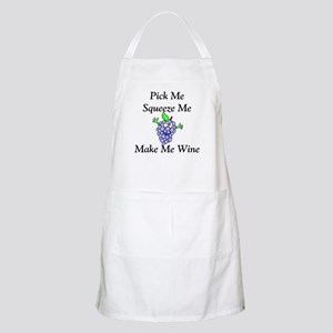 Make Me Wine BBQ Apron