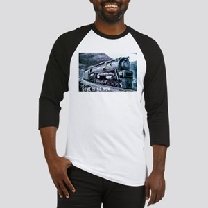 Baldwin S-2 Steam Locomotive Baseball Jersey