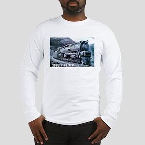 Baldwin S-2 Steam Locomotive Long Sleeve T-Shirt