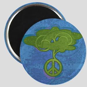 Peace Tree Magnet