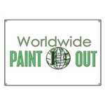 IPAP WORLDWIDE Paint Out Banner