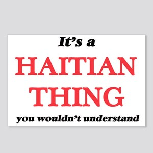 It's a Haitian thing, Postcards (Package of 8)