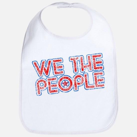 We The People Patriotic Bib