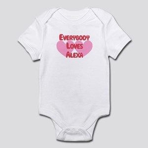 Everybody Loves Alexa Infant Bodysuit