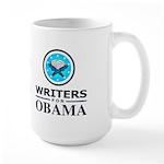 WRITERS FOR OBAMA Large Mug