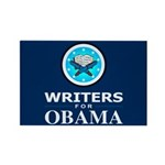 WRITERS FOR OBAMA Rectangle Magnet
