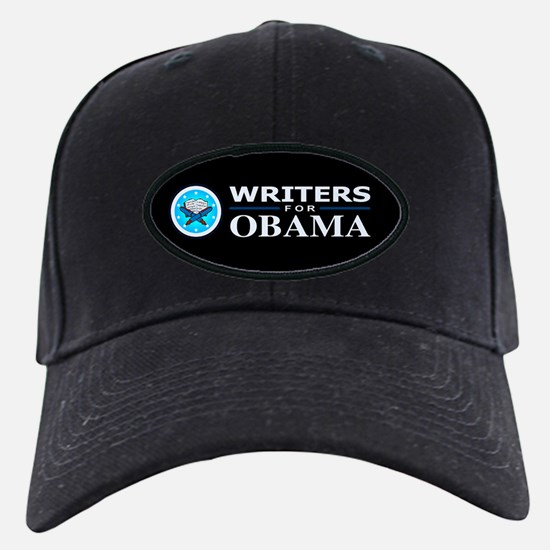 WRITERS FOR OBAMA Baseball Hat