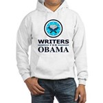 WRITERS FOR OBAMA Hooded Sweatshirt