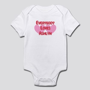 Everybody Loves Ashlyn Infant Bodysuit
