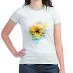Stoked Surfer - Jr. Ringer T-Shirt