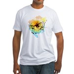 Stoked Surfer - Fitted T-Shirt