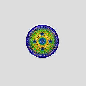 Celtic Earth Orb Mini Button