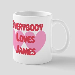 Everybody Loves James Mug