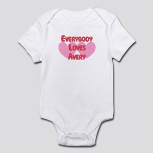 Everybody Loves Avery Infant Bodysuit