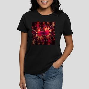 Fractal Art Women's Dark T-Shirt