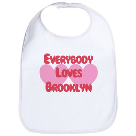 Everybody Loves Brooklyn Bib