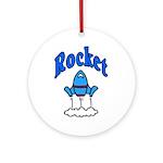 Rocket Kids Clothes Keepsake (Round)