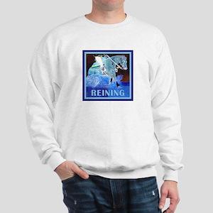 Brown Reining Horse Terms Sweatshirt