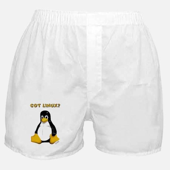 Got Linux? Boxer Shorts