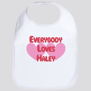 Everybody Loves Haley Bib
