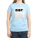 Eat, Sleep, Surf - Women's Light T-Shirt