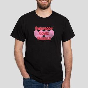 Everybody Loves Isabelle Dark T-Shirt