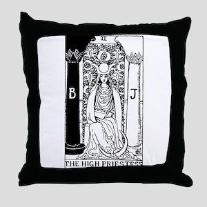 The High Priestess Rider-Waite Tarot Card Throw Pi