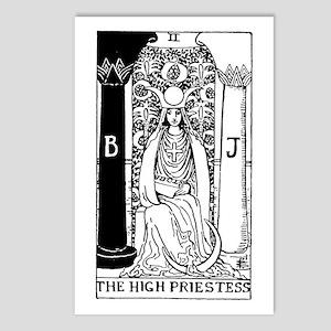 The High Priestess Rider-Waite Tarot Card Postcard