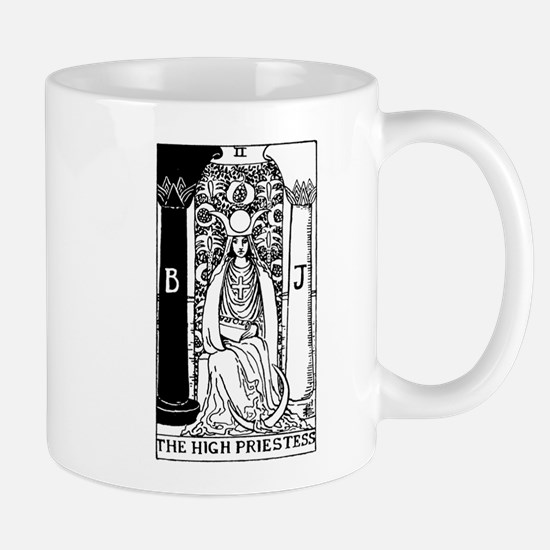 The High Priestess Rider-Waite Tarot Card Mug