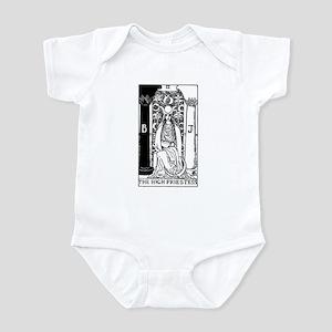 The High Priestess Rider-Waite Tarot Card Infant B