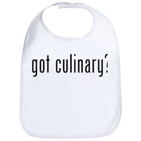 got culinary? Bib