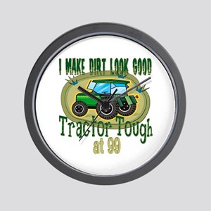 Tractor Tough 99th Wall Clock