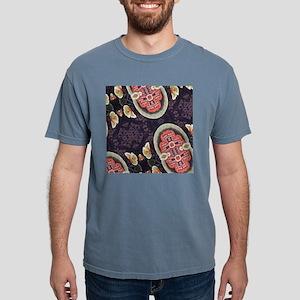 floral patten japanese textile T-Shirt