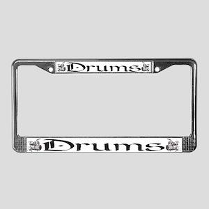 Joe's Drums License Plate Frame