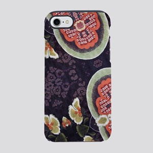 floral patten japanese texti iPhone 8/7 Tough Case